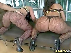 Beefy cock for Big Ass bitches Kelly Stacks and Madison Rose