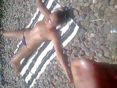 NV - Rus Public FLASH Topless GIRL 104