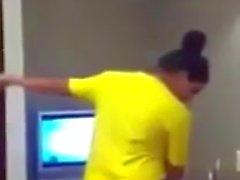 Desi Woman Dancing