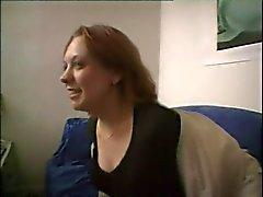Французская CASTING 151 блондинка подростковой милашки POV