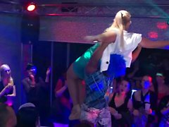 Amateur party girls get plowed hard