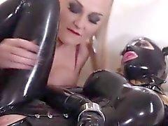 Di lattice e delle azioni fetish estremamente belle
