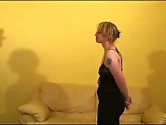 Dildo and anal fun with a submissive woman (fre, toy, three)