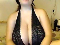 Tits gigante esta chica de webcam