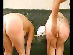 Samara & Tracy Hooker Spanking - Scene 1
