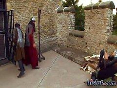 Theodora got ganged up