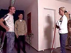 Alman kadın ile anal