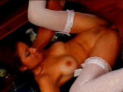 Horny chick gets drilled