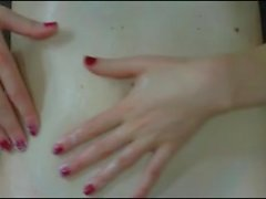 white girls belly button fuck and cumshot