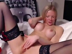 blond british chick on cam wants you to fuck her