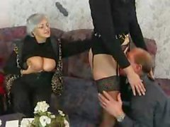 Deutsch Granny Swinger-Party