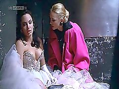 Angelina Jolie nude in hot lesbian sex action and in other