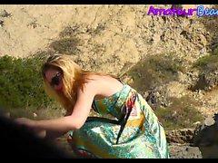 Blonde Amateurs Nudits Beach Compilation Voyeur Video