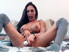 Big boobs fucked on webcam