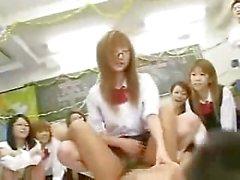Japanese School Orgy