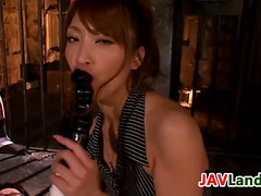 Kinky Japanese Babe Pleasing Two Cocks