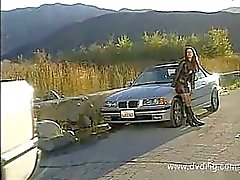 Car Problems Force Brunette Sydnee Steele To Ask For Help From Beautiful Guy And Reward Him In Nature