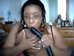 Marketta a The Black SSBBW Dildo di Gioca