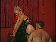 Femdom Mistress in leather