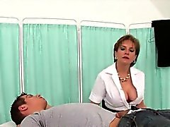 Adulterous british mature gill ellis pops out her big boobs