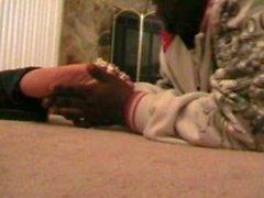 Ebony Tickle fetish Fun