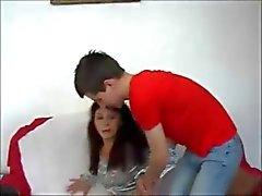 Amateur moeder eikels Boy - ANAAL