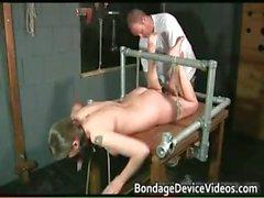 Kinky brunette slut is bound and spanked part5