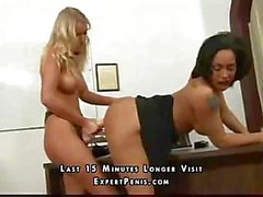 Teacher takes her student and punishes her with a tongue lashing