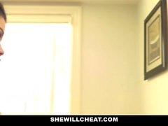 SheWillCheat - Huijaaminen vaimo saa Pussy Porattu