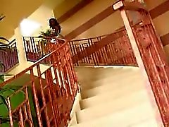 Tiny Black Teen rides BBC