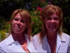 Sisters - Identical Twins - Crystal and Jocelyn fuck and suck
