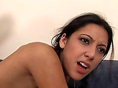 Skinny Girl fucks her BBC stepdad.