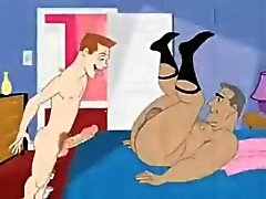 Homosexuell Cartoon 3