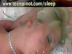 Girl fucked while sleeping