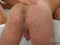 GIRLSRIMMING - Gina Gerson Prostate massage