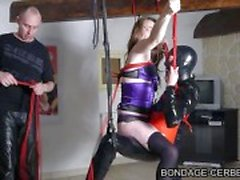 Ranskan bondage soumise hiekkainen elostelija bdsm et soumis d fetich lateksia
