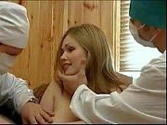 Doctors Forcing A Patient