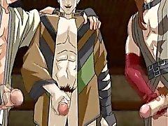 Bağlı yukarı Anime ve twink yaptığı bakir pislik becerdin alır