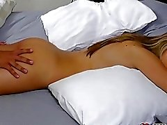 Kimmy Grang wakes up from being fucked by her step brother!