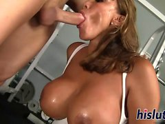 Curvy MILF Ava Devine does anal