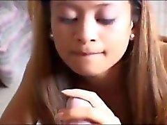 Smoking schoolgirl Kina Kai