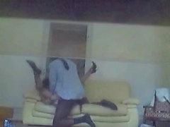 Cheating wife filmed