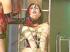 Mätresse Disziplinen ihrer Sklavin