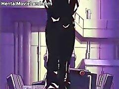Fantastiska anime hottie blir bunden och hennes part6