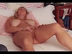 Amateur Blonde With Big Boobs Dildoing DP