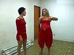 Asi se cierran in Los gespann DE Brasilien . Lizandra Chris