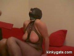 Zu bestrafen meinem Kapuzen Sklave Emmily