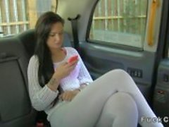 British amateur babe gets to be fucked on the hood