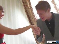 Dirty Flix - Iva Zan - Courtesan plays it perfectly