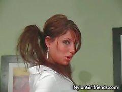 Nasty sexy hot body schoolgirl have fun part2